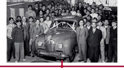 Nissan plant workers