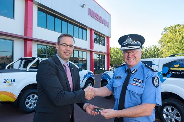 """Nissan is the motoring partner of the 2018 Australasian Police and Emergency Services Games (AP&ES Games)"