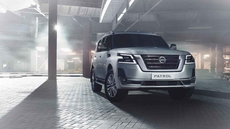 New Nissan Patrol Grille