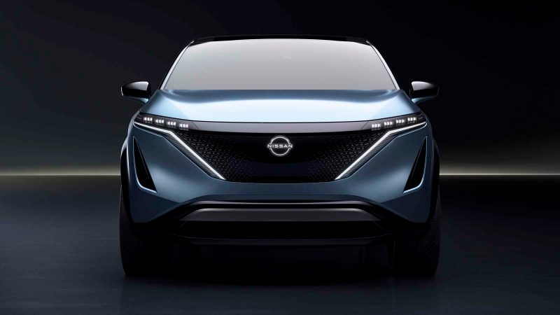 Nissan Ariya Concept front grille