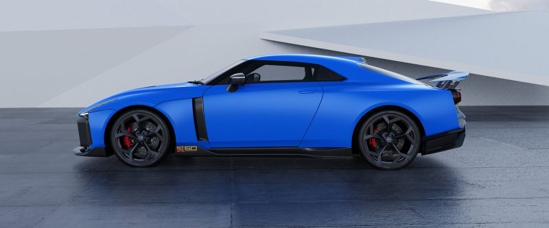 GT-R50 by Italdesign in Blue