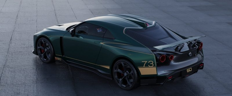 GT-R50 by Italdesign in green