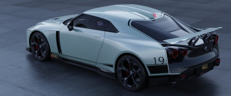 GT-R50 by Italdesign in Mint