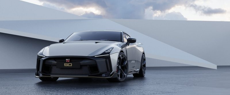 GT-R50 by Italdesign in silver