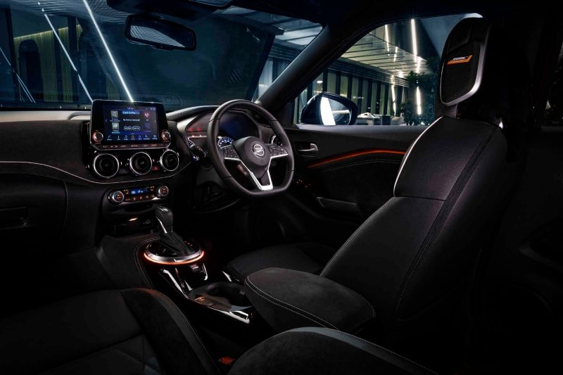 All new Nissan JUKE interior