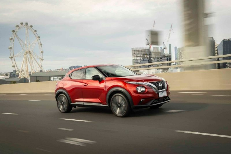 All new Nissan JUKE on highway