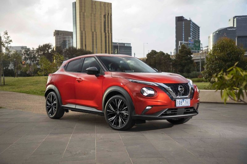 All new Nissan JUKE on park road