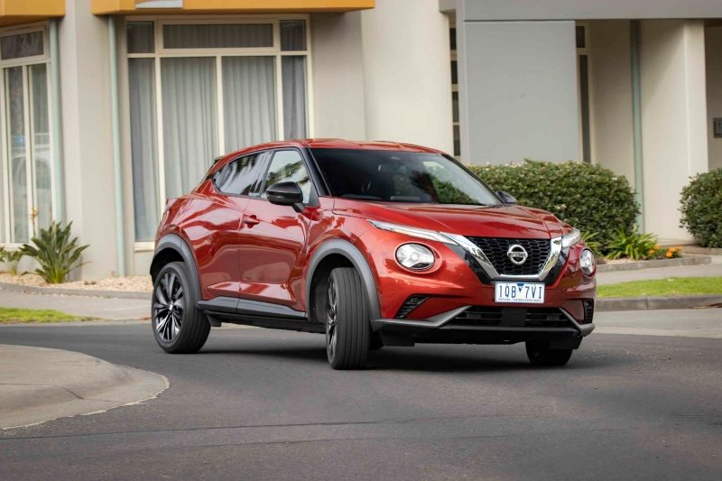 All new Nissan JUKE in urban environment