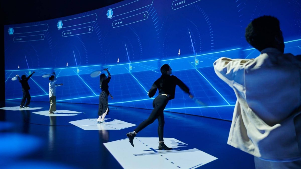 Nissan pavilion virtual tennis