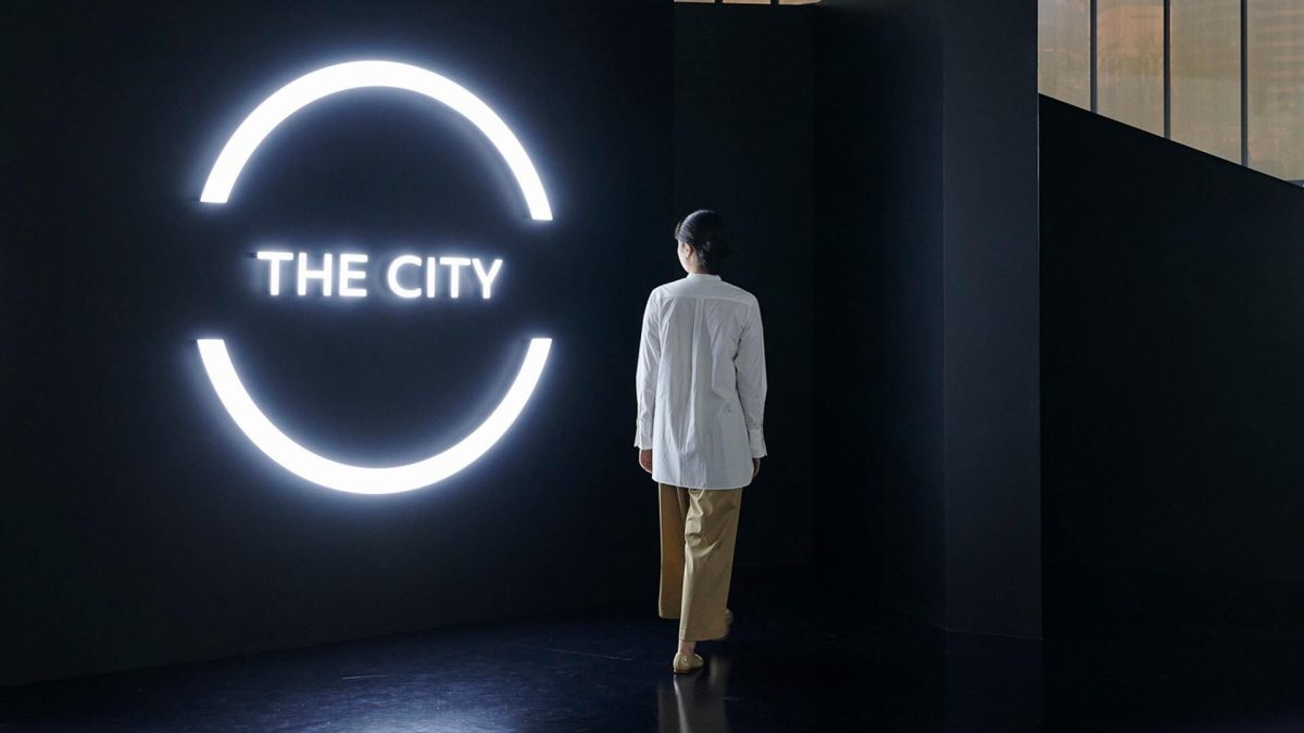 Nissan pavilion 'The City' expo