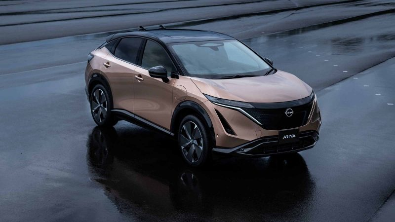 All new Nissan Ariya