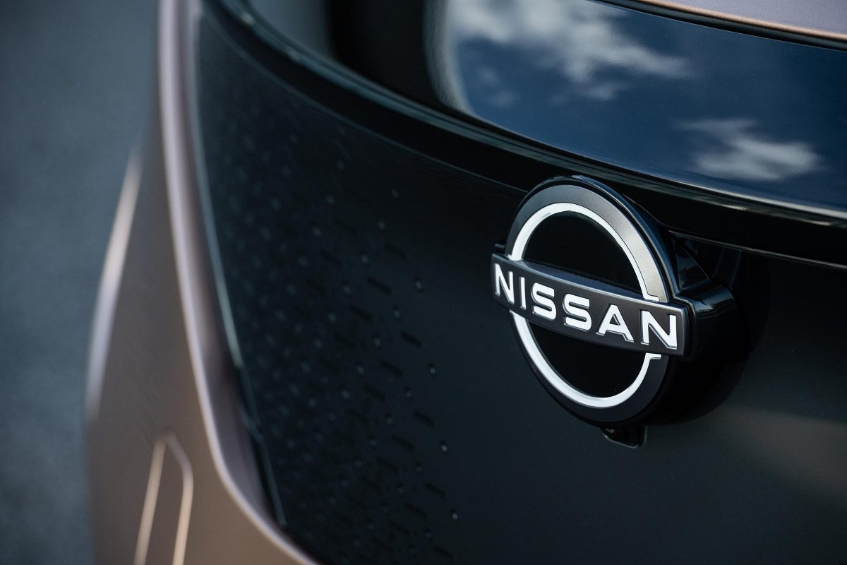 Nissan Ariya front exterior close-up