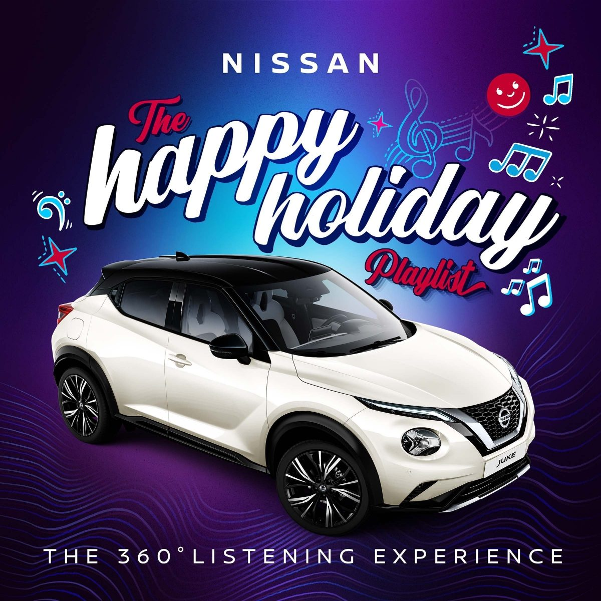 Nissan Happy Holiday 360 degreee listening experience