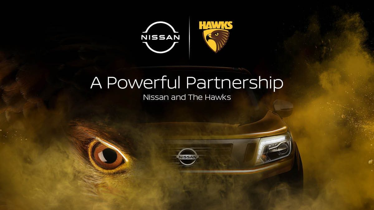 'A powerful partnership - Nissan and the Hawks'