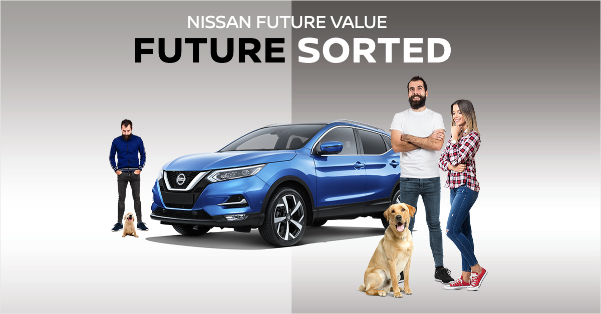 Nissan future value banner