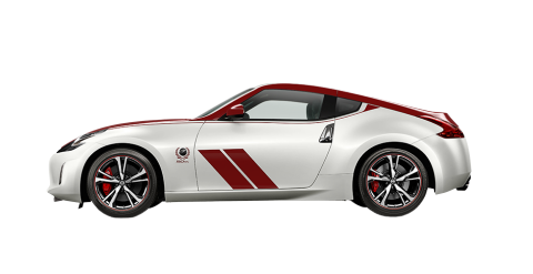 370Z 50th Anniversary Coupe (White/Red) Auto