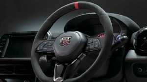 Alcantara® steering wheel