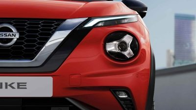 JUKE headlight closeup