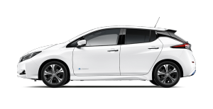 Nissan Arctic White LEAF N-Connecta