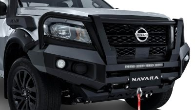 Off-Road Coated Bullbar with Hoops