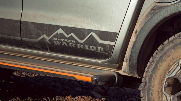 N-TREK Warrior Decal closeup