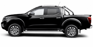 Nissan Navara side profile