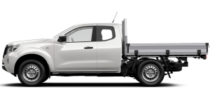 Navara King Cab Chassis side profile