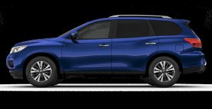 Nissan Capsian Blue Pathfinder ST