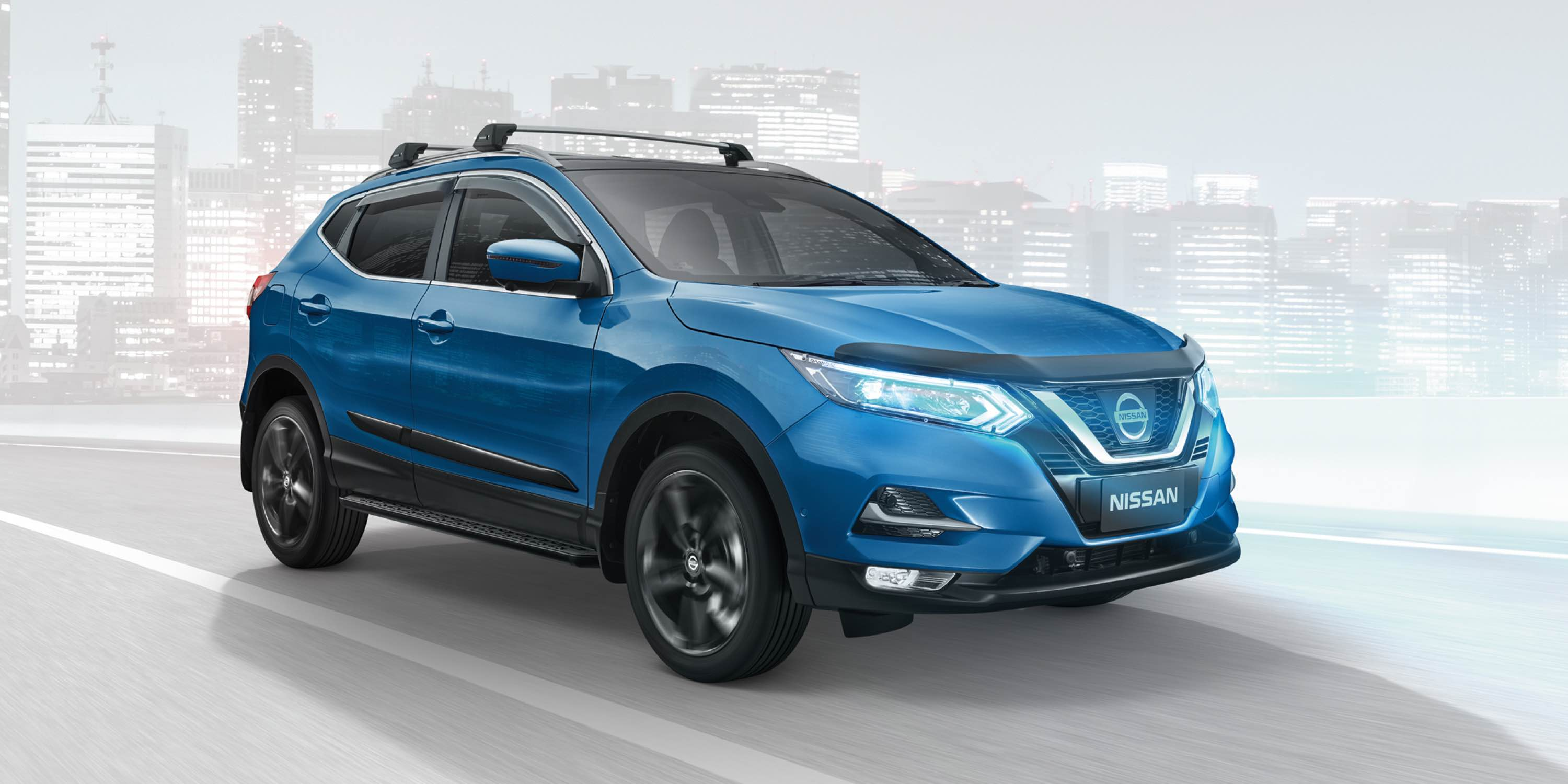 Qashqai Genuine Accessories hero image