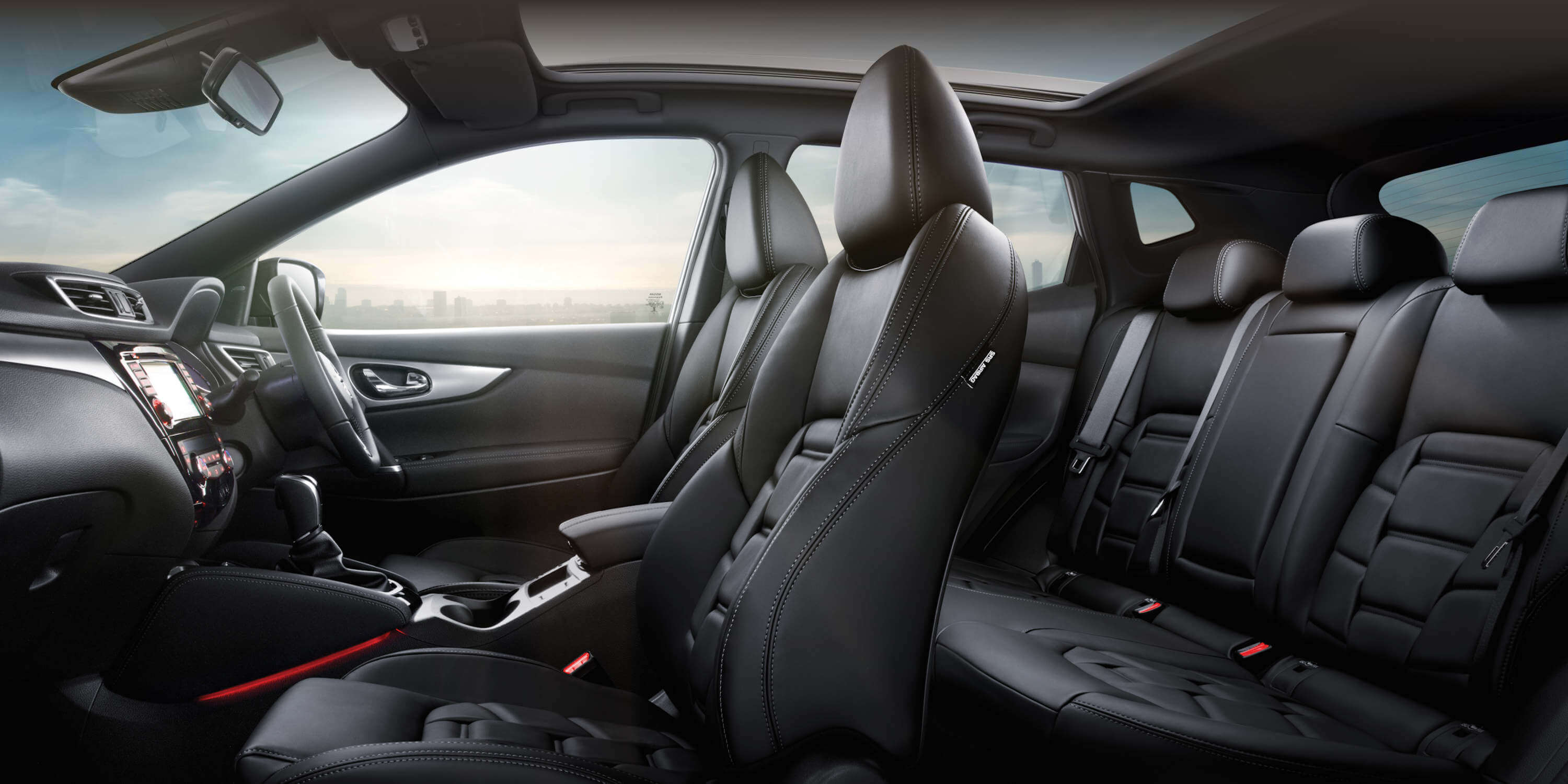 delux quality and comfort interior