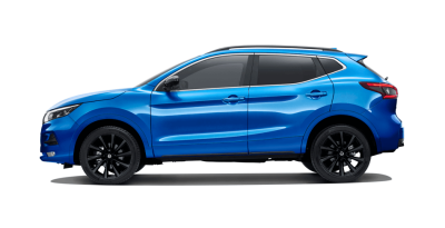 QASHQAI Midnight Edition side profile