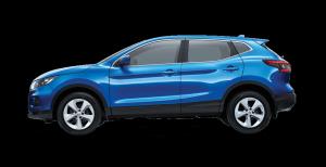 Nissan Vivid Blue QASHQAI ST