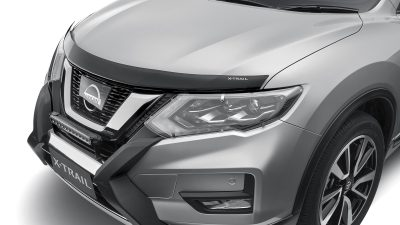 X-TRAIL fitted with Bonnet Protector (Smoked)