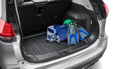 X-TRAIL boot with Rear protection tray