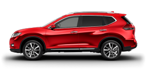 X-TRAIL side profile