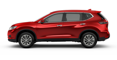 Nissan Ruby Red X-Trail 2.0D Auto 4WD TS