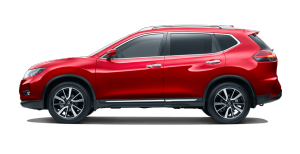 Nissan Ruby Red X-Trail Ti
