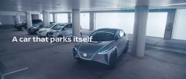 'A car that parks itself'