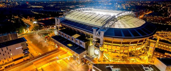 Amsterdam arena at night