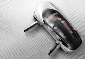 Nissan IMx Kuro exterior overhead