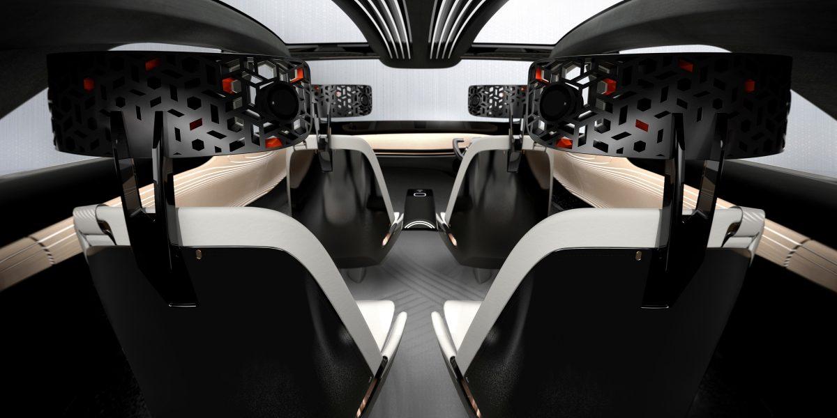 Nissan IMx KURO interior seating
