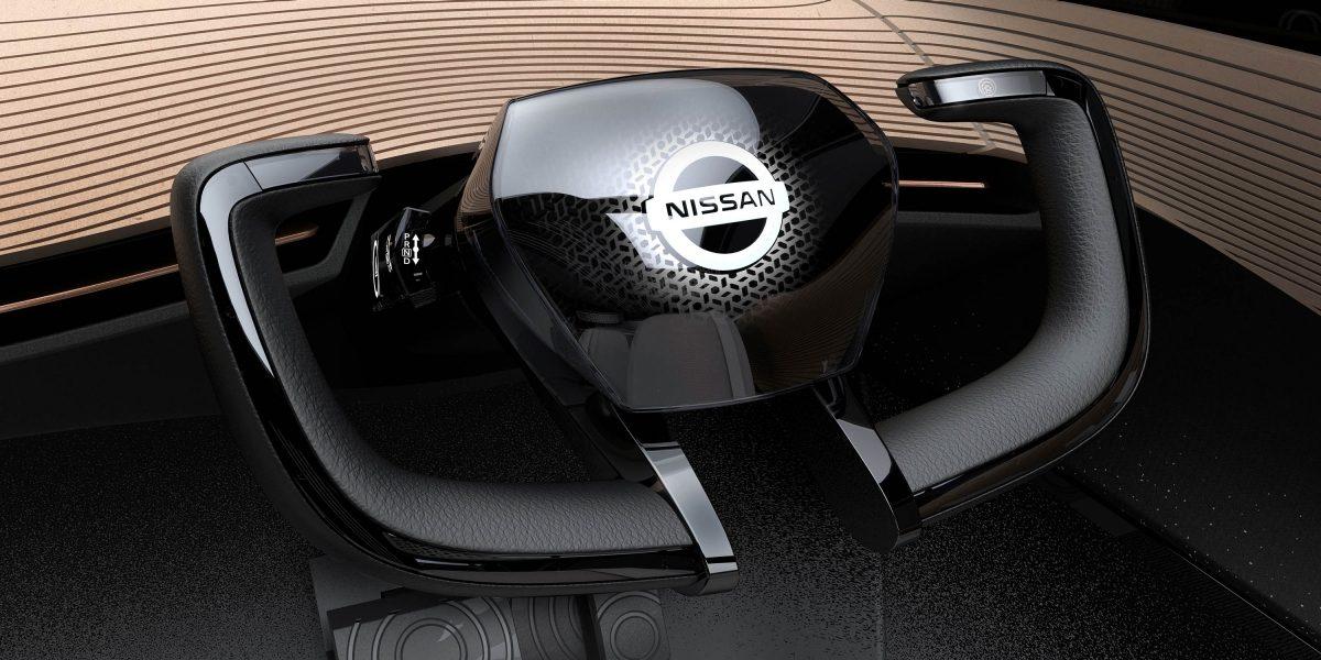 Nissan IMx KURO steering wheel