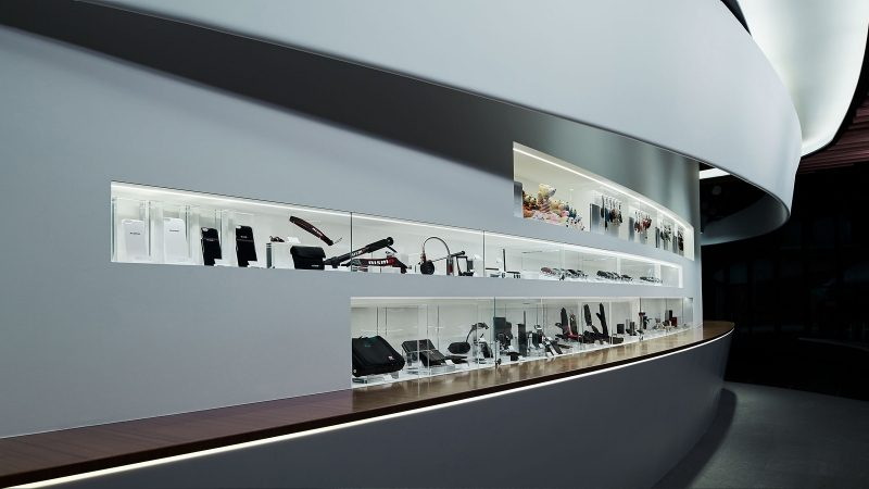 Nissan Crossing boutique display case