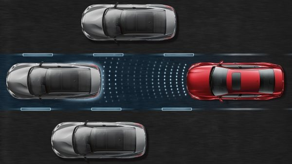 Nissan ProPILOT in traffic