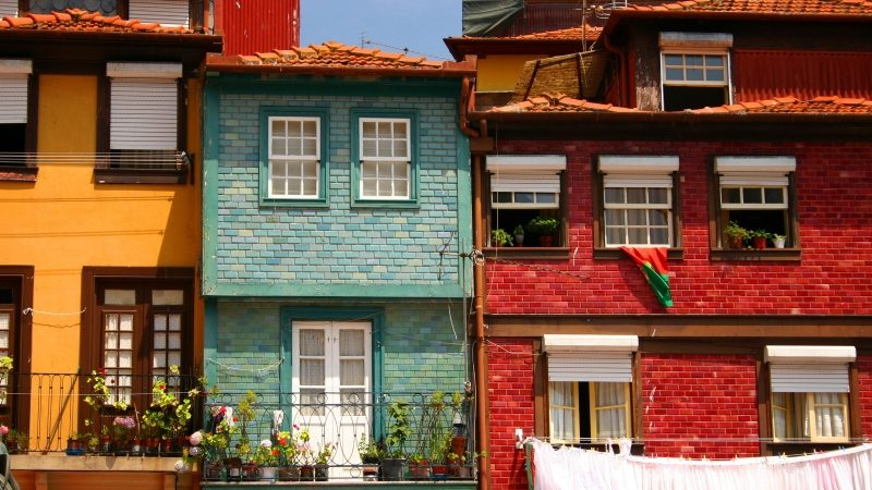 Traditional houses - Oporto, Portugal