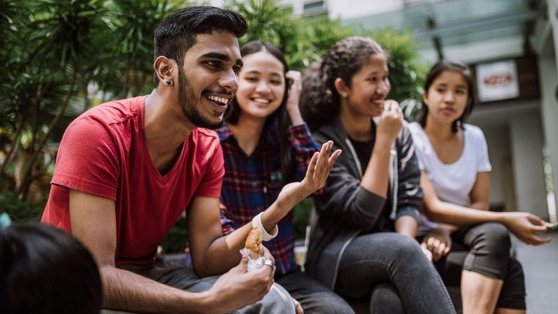 Group Of Students in Malaysia