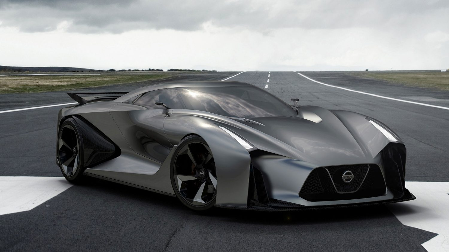 Nissan Concept 2020 Vision Gran Turismo 3/4 front.