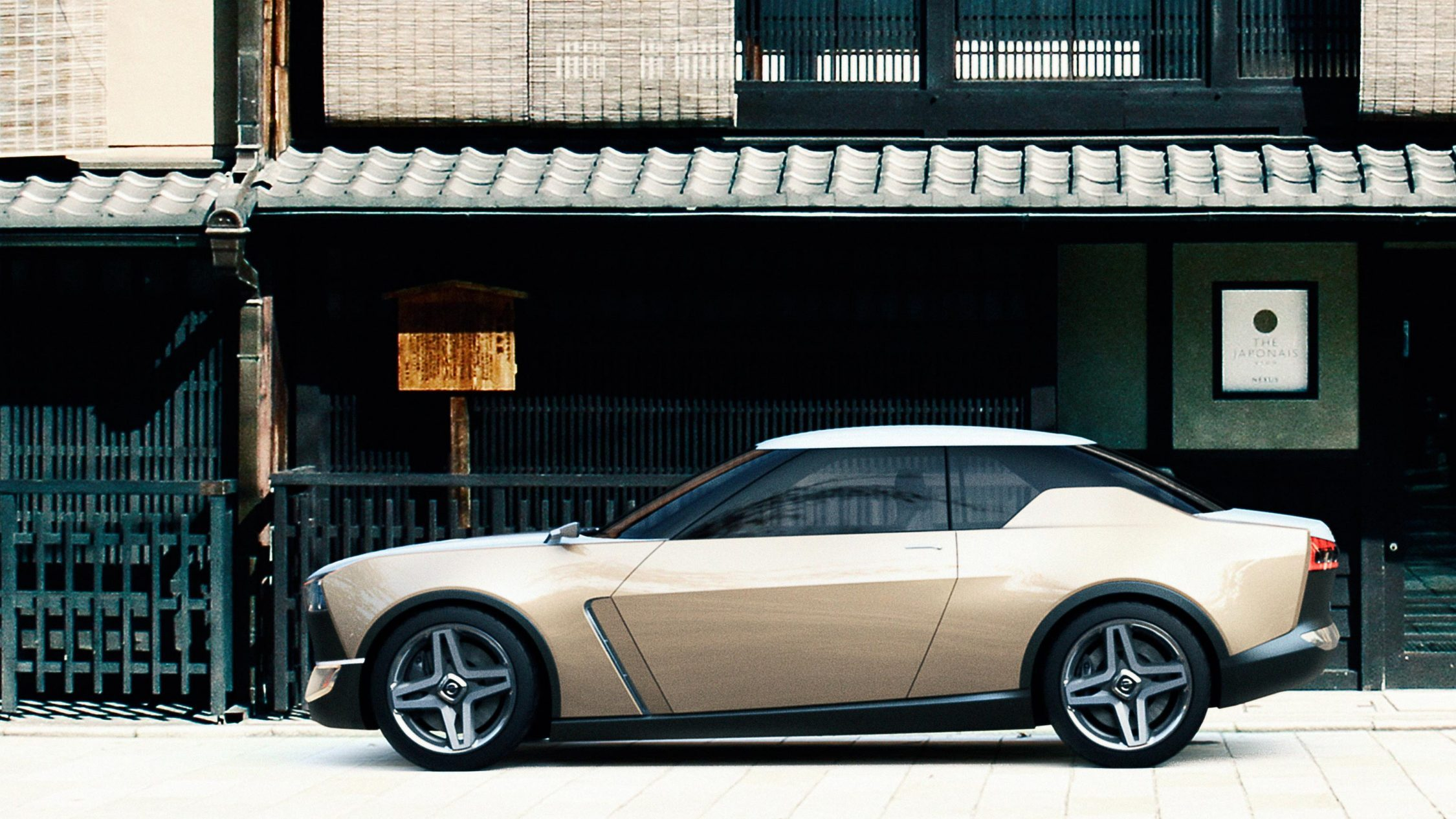 Nissan IDX Freeflow Concept. Gallery profile city storefront.