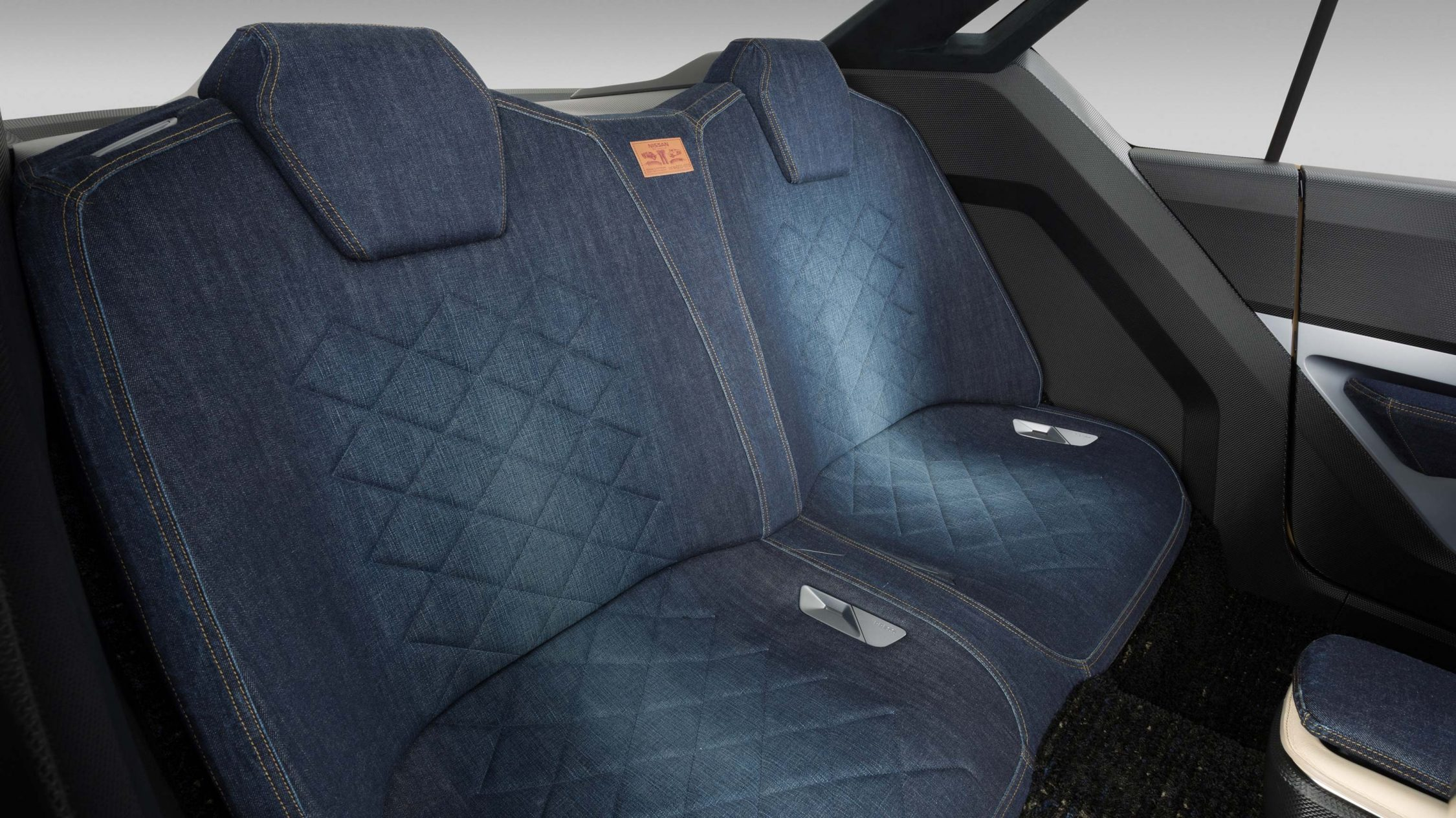 Nissan IDX Freeflow Concept. Gallery seat fabric detail.