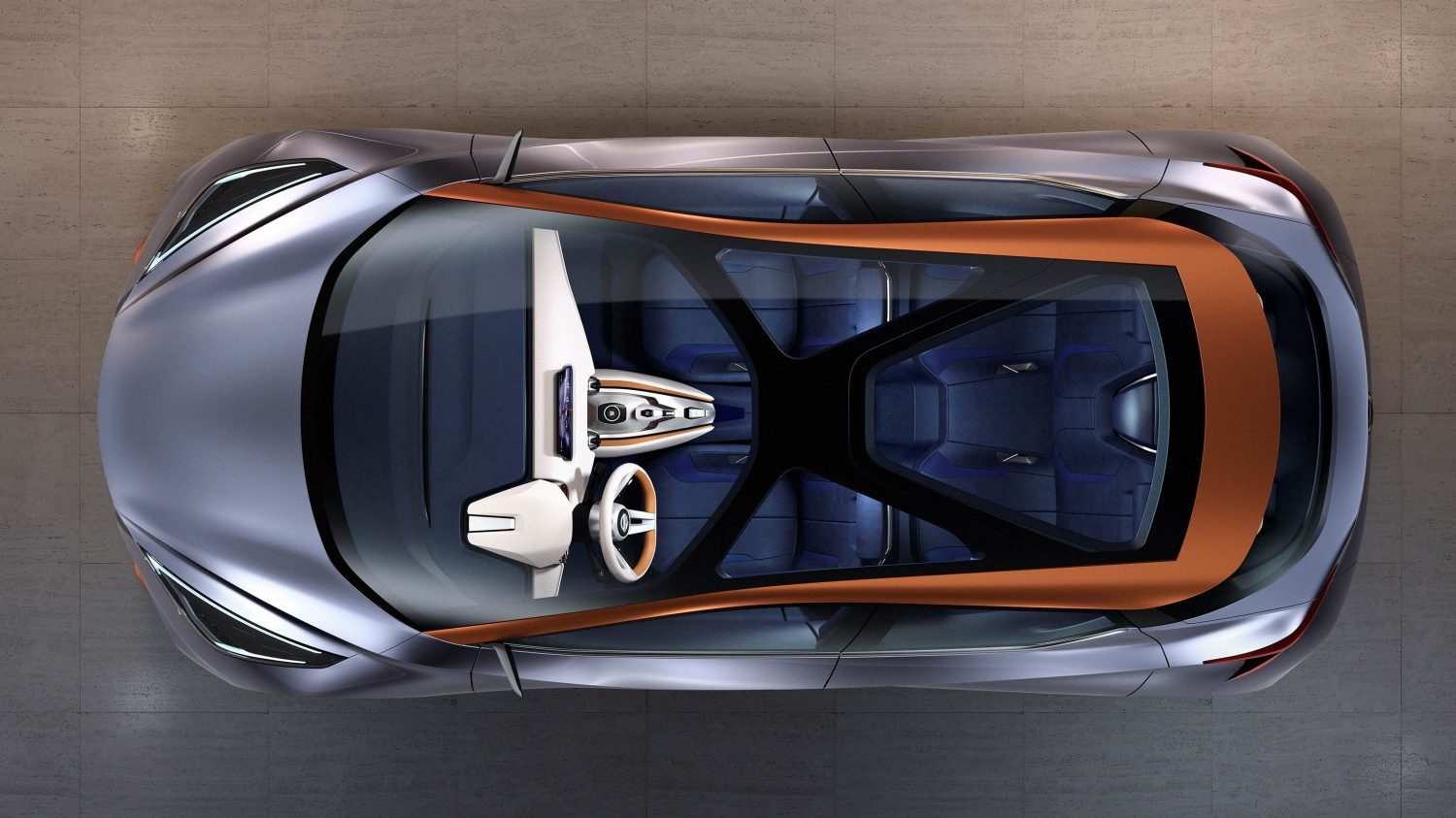 Nissan Sway Concept. Gallery overhead.
